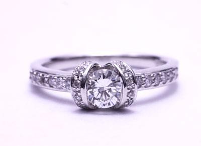 finest selection 99f14 84641 吹田市K様からのご依頼|宝石リフォーム事例集「立爪の指輪を ...